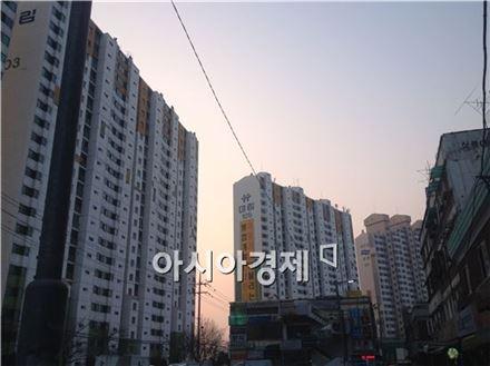 서부이촌동 대림아파트 전경