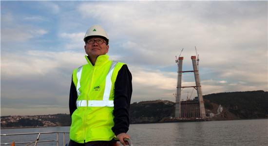 나영묵 현대건설 터키 보스포러스 제3대교 건설현장 소장