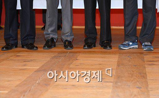 [포토]'지역의 일꾼으로 어울리는 신발은?'