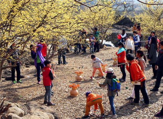 ▲구례 산수유 축제 (출처: 구례군청)