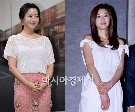 배우 김희선과 전지현