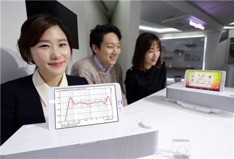 ▲LG유플러스 홈보이 스피커독.
