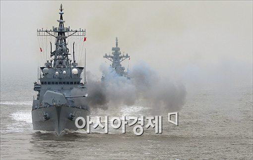 [포토]천안함 4주기 해상 기동훈련