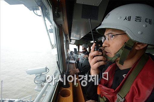 [포토]천안함 4주기 해상기동훈련