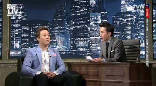 ▲정준하 김치전. (출처: SNL 방송화면 캡처)