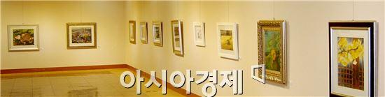 광양시가 문예회관에서 광양여성작가회 작품 전시회 개최를 개최했다.
