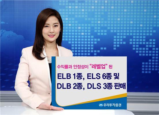 우리투자證, '수익률·안정성↑' ELB·ELS 7종 및 DLB·DLS 5종 판매