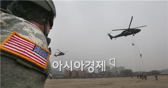 우리 군은 핵과 미사일을 조기에 식별, 탐지, 타격하는 '킬 체인'을 구축하는 등 독자적인 방어체계를 구축할 계획이지만 국방예산 증가율이 둔화하면서 구축 시기가 2020년으로 늦춰지고 있다.