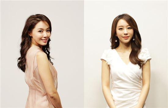 ▲SBS '베이스볼S'의 새 진행자 김민아, 황보미 아나운서 (출처: SBS 스포츠 트위터)