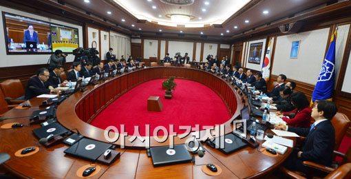 [포토]규제개혁 언급한 국무회의