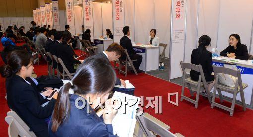 [포토]2014 현대·기아자동차 협력사 채용박람회 개최