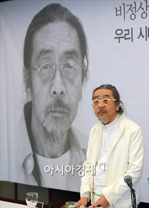 [포토]이외수, '완전변태' 신간 출간 간담회