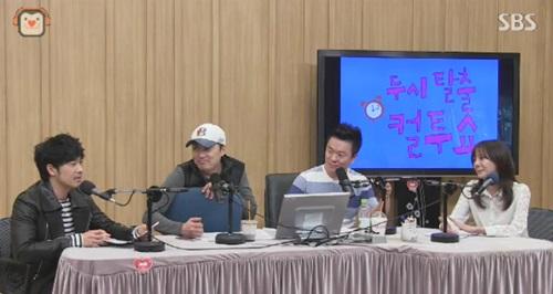 ▲고은아.(출처: SBS '컬투쇼' 방송 캡처)