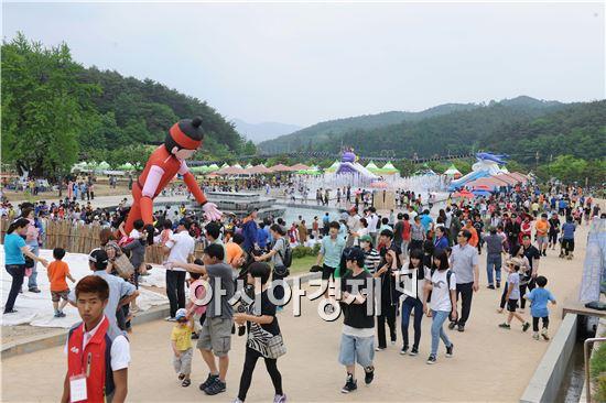 지난해 열린 장성 홍길동축제