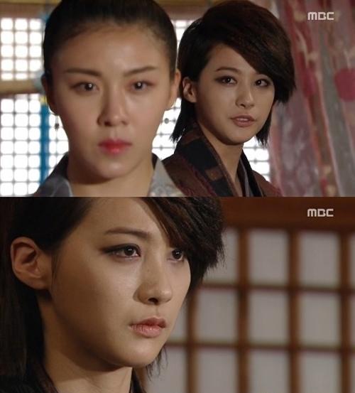 ▲ 하지원에게 자신의 마음을 이야기하는 유인영=MBC 방송화면 캡쳐