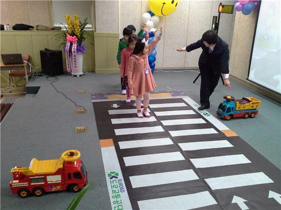 용마초등학교 어린이교통안전교실