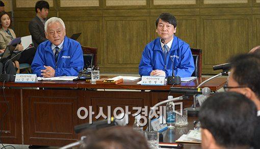 [포토]세모녀 법안 현장간담회 갖는 새정치민주연합