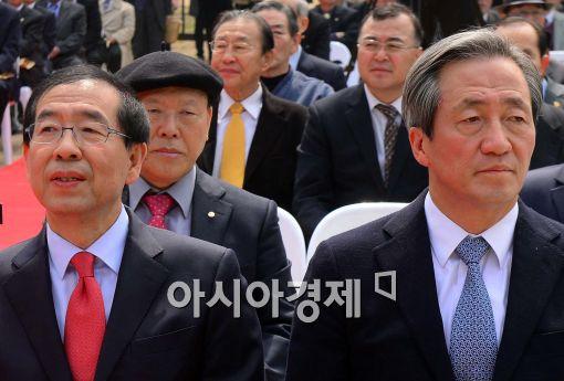 金·李·鄭 새누리 서울시장 후보, '박원순 때리기' 집중