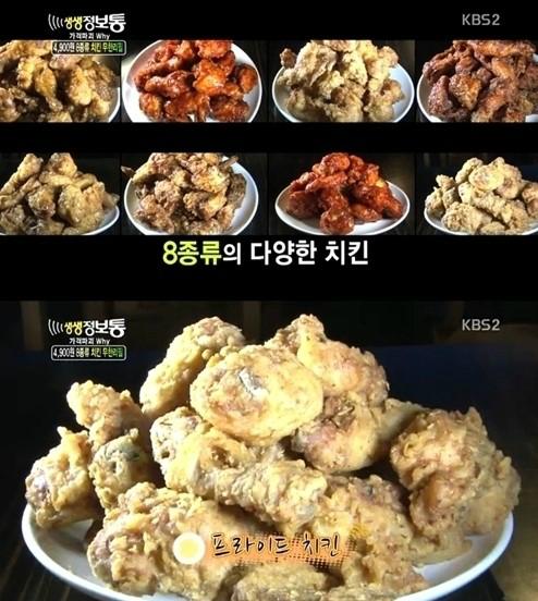치킨[사진=KBS 2TV '생생정보통' 방송 캡처]