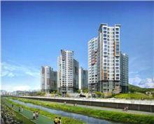SK건설이 서울시 노원구 월계동 월계3구역을 재건축해 분양하는 '꿈의숲 SK view' 투시도