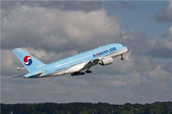 대한항공의 A380 사진