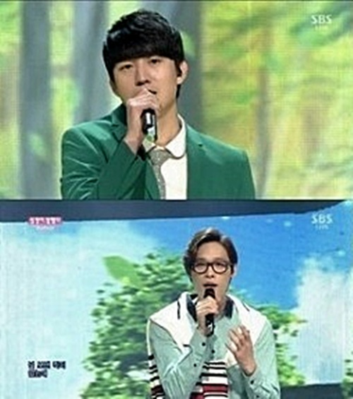 SBS '인기가요' 캡쳐