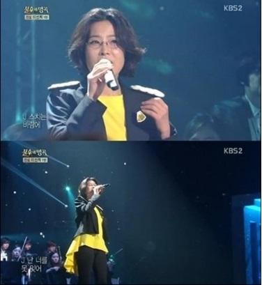 ▲불후의명곡 이선희.(출처: KBS2 '불후의 명곡' 방송 캡처)