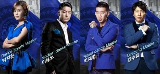 ▲김수로 댄싱9 마스터(사진출처:Mnet '댄싱9' 트위터)