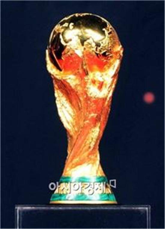 ▲2014 브라질 월드컵 우승 트로피