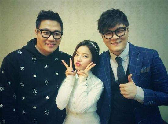▲벤 불후 인증샷. (출처: KBS2 불후의 명곡 인증샷)
