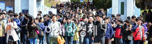[포토]상반기 첫 대졸 신입사원 채용
