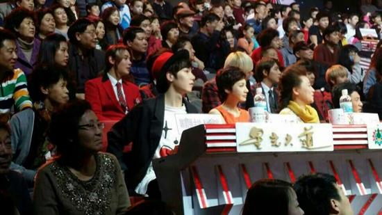 ▲ 중국의 인기 프로그램 '싱광따다오'에 출연한 엠파이어