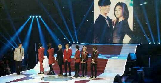 ▲ 중국 유명 프로그램 '싱광따다오'에 출연한 엠파이어