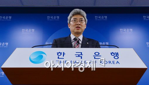 [포토]한국은행, 2014 경제성장률 4.0%