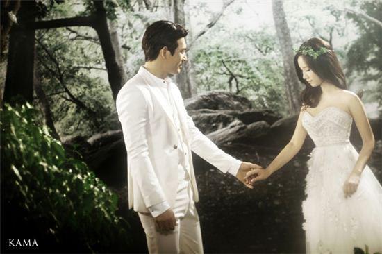 ▲오지호 결혼(사진: 헤븐리스타컨텐츠 제공)