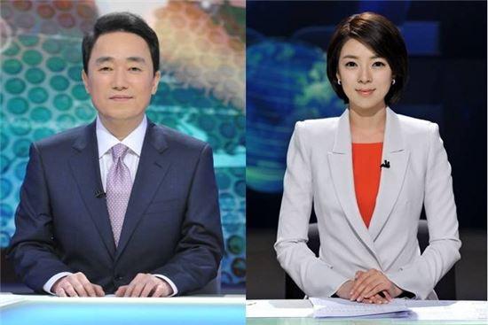 ▲배현진 아나운서, 박용찬 기자 (출처: MBC)