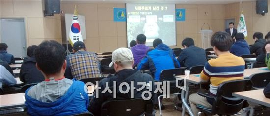 곡성군은 11일부터 25일까지 총 7회에 걸쳐 민방위 교육을 실시한다.