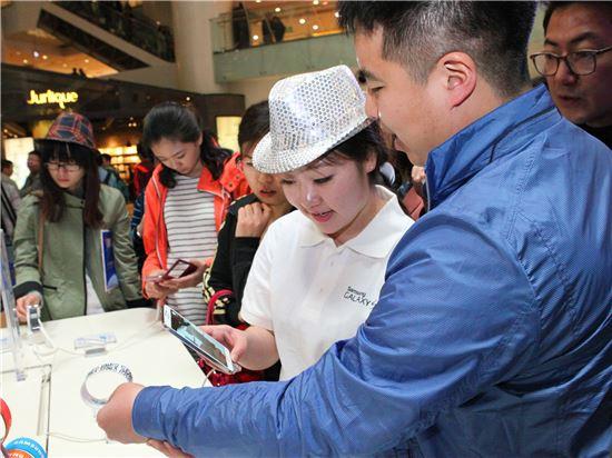 갤럭시S5 판매 첫 날, 중국