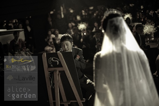 ▲장범준 송지수 결혼. (출처: 더라빌 사진 공개 캡처)