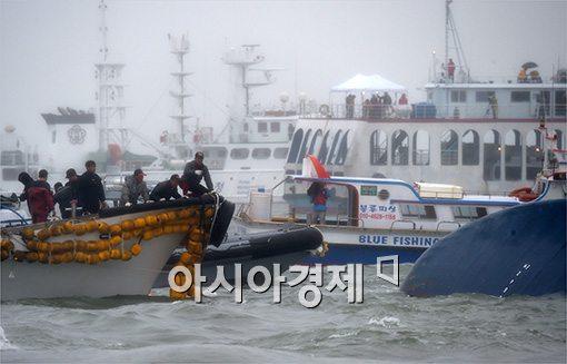 ▲세월호 침몰.