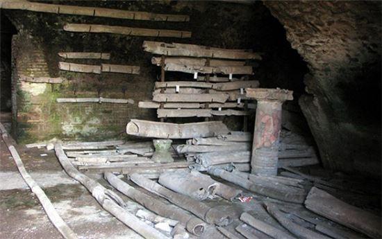 ▲고대 로마시대 사용됐던 납 파이프에서 우물물보다 100배 높은 납이 검출됐다.[사진제공=사이언스지]