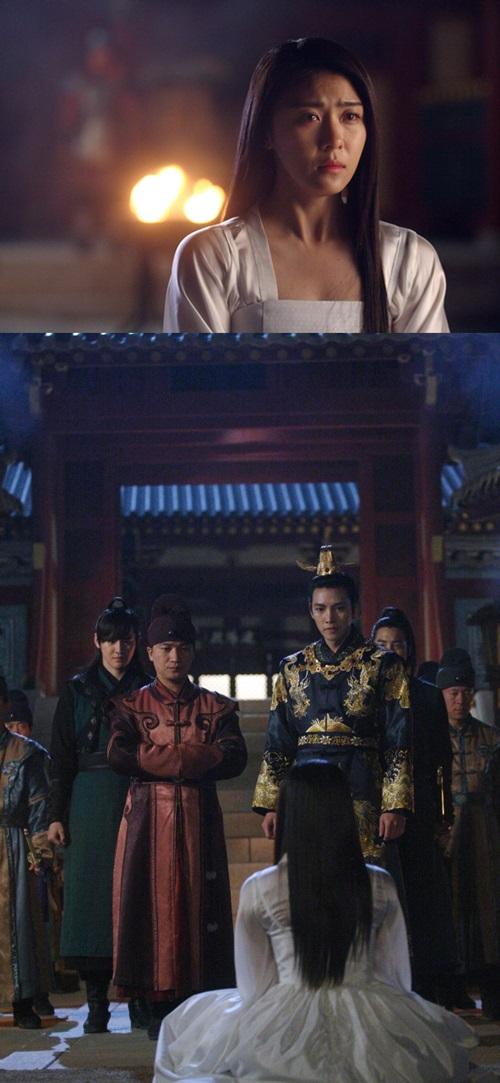배우 하지원이 MBC '기황후' 49회에서 황궁 밖으로 쫓겨날 위기에 처한다. 사진은 MBC 제공.