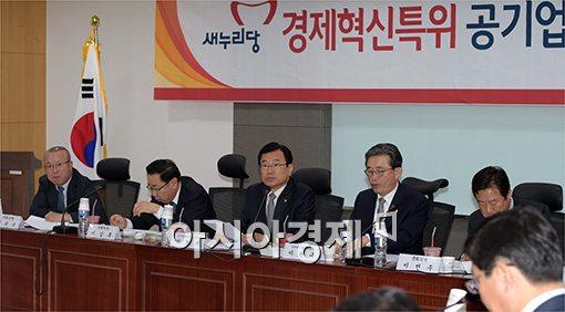 [포토]경제혁신, 공기업개혁분과 회의