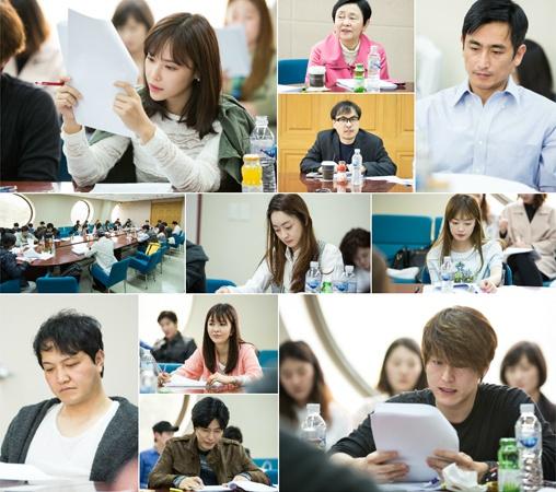 ▲SBS '끝없는 사랑' 대본리딩 현장 사진이 공개됐다.(사진:스토리티비 제공)