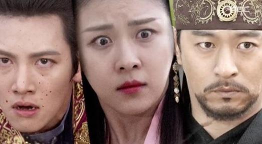 ▲배우 지창욱이 MBC 월화드라마 '기황후'에서 마하 황자의 출생의 비밀을 알았다. (사진:MBC 방송 캡처)
