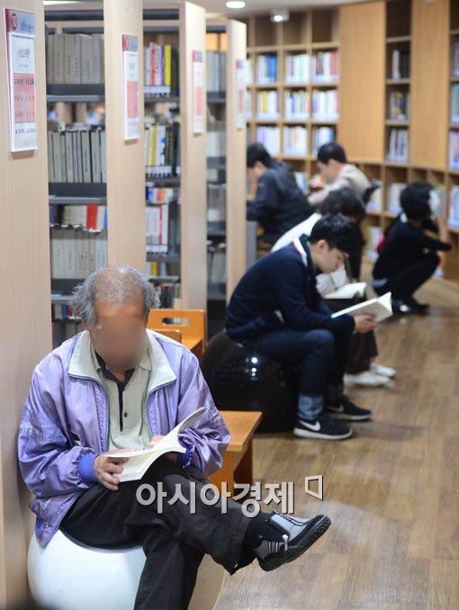 [포토]남녀노소 독서