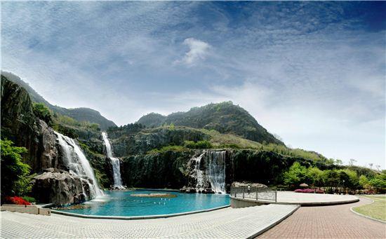 용마폭포공원