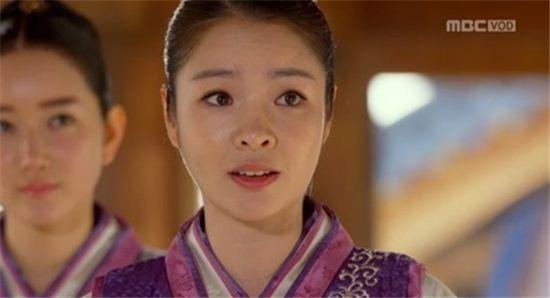 ▲이덕화 딸 배우 이지현(사진:MBC'기황후' 방송 캡처)