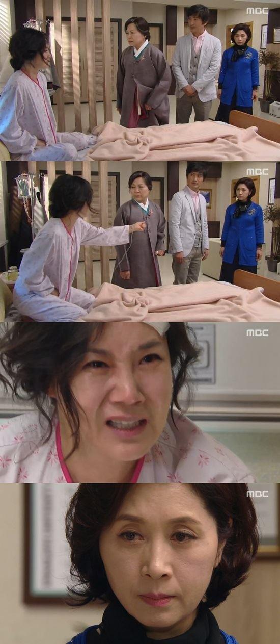 배우 김혜옥이 MBC '왔다! 장보리'에서 양미경의 교통사고를 모른 척 했다. /사진은 방송 캡처.