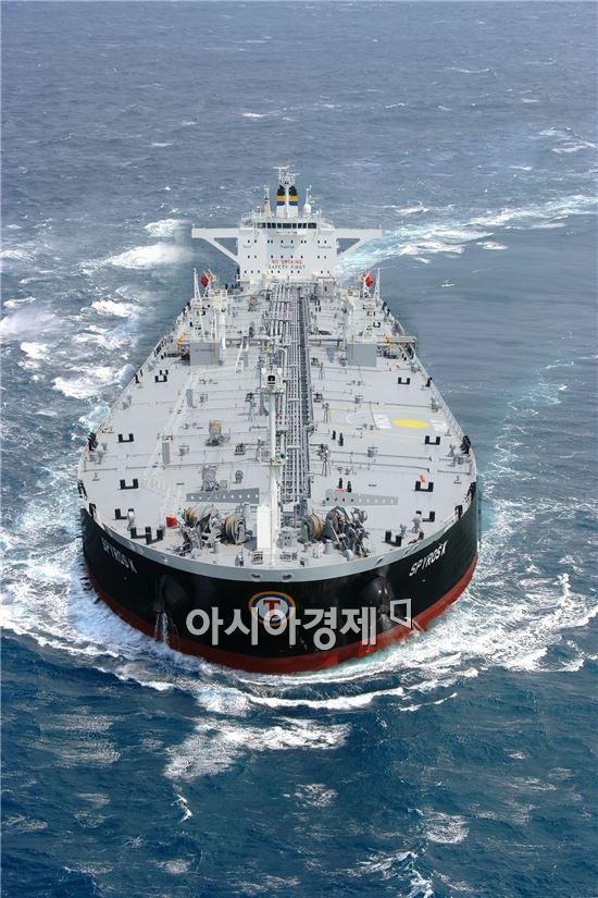15만8000DWT 크루드 오일 탱커 (사진제공=성동조선해양)